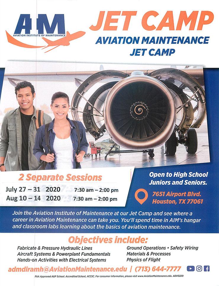 Aviation Institute of Maintenance Jet Camp 1