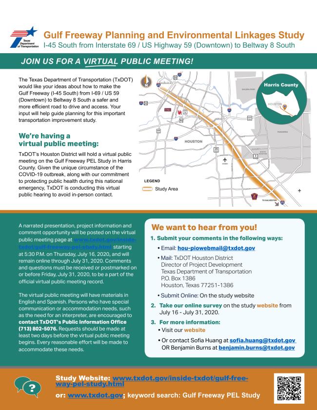 TxDOT I-45 Community Survey 2