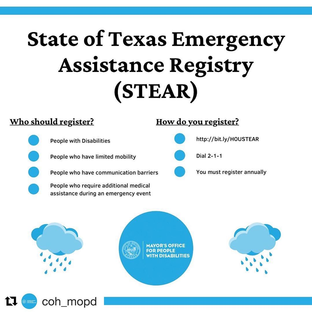 City of Houston Neighborhood Department: State of Texas Emergency Assistance Registry (STEAR) 1