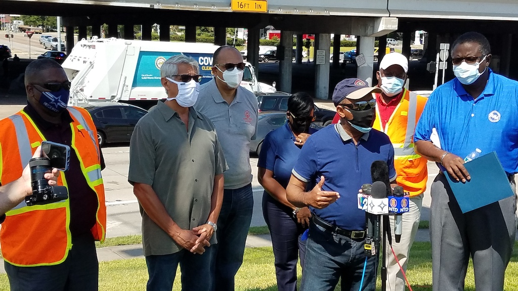 City of Houston Addressing Public Health Risks Associated With Homeless Encampments 1
