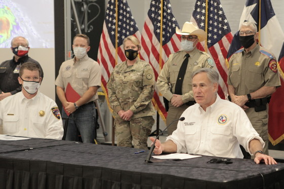 Governor Abbott Holds Briefing, Press Conference On Hurricane Marco And Tropical Storm Laura, Requests Federal Emergency Declaration 1