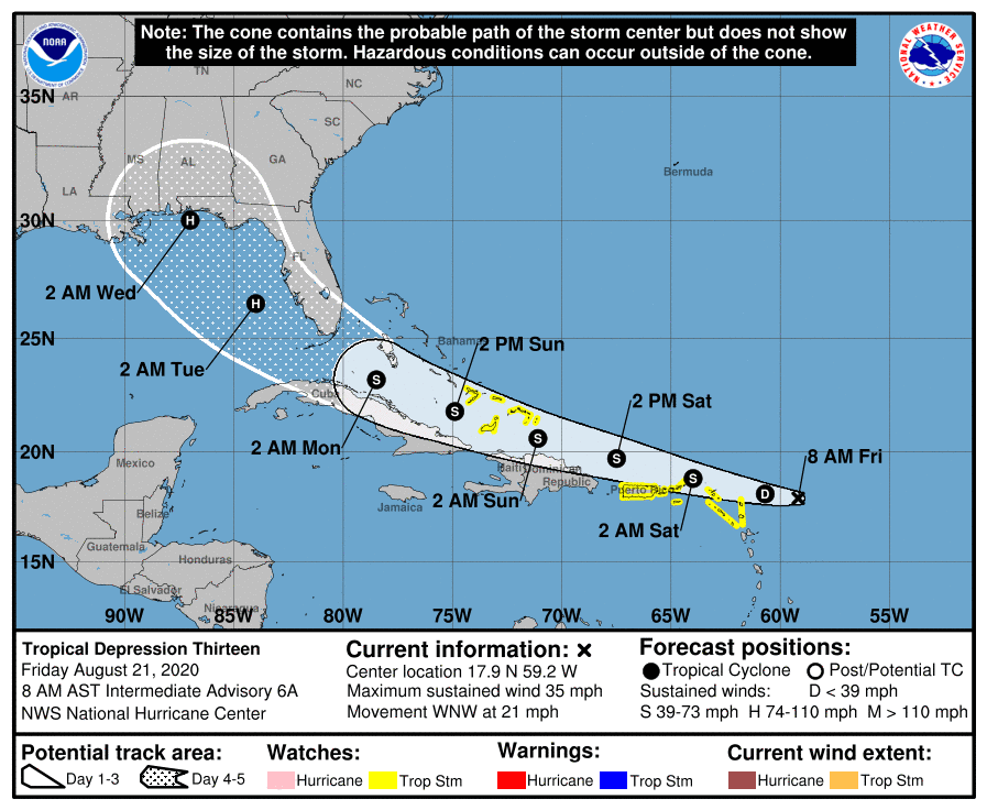 Tropical Storm Laura Forms 2