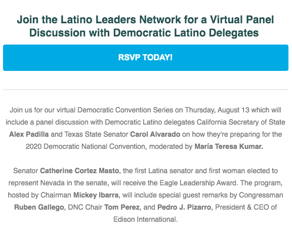 District 6: Latino Leaders Network Event, Aug. 13 3