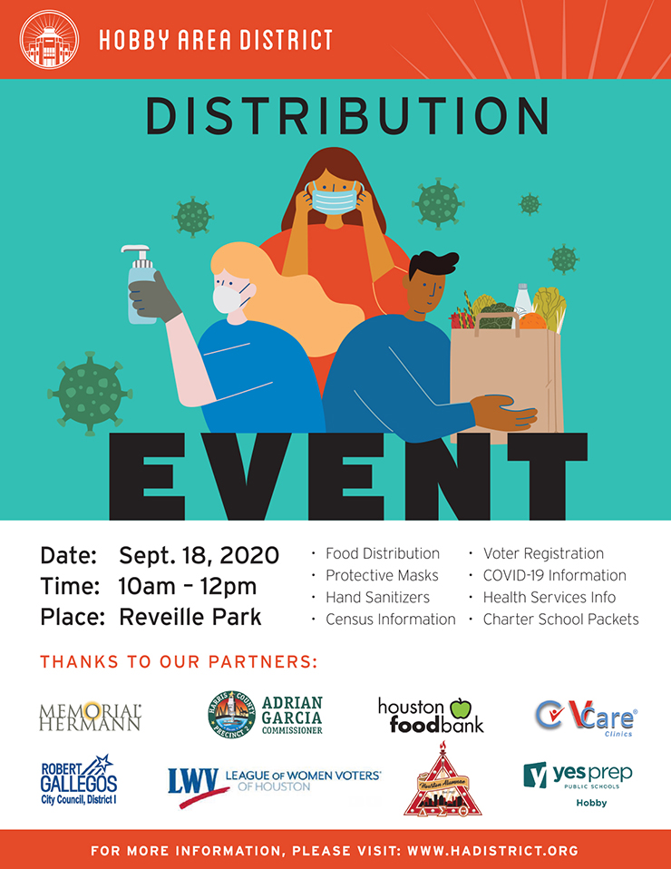 Hobby Area District Distribution Event, Sept. 18 1