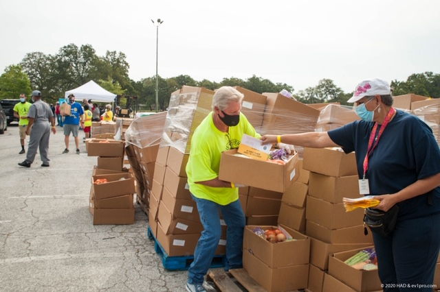 Pictures: Hobby Area District Food Distribution Event, Sept. 17 20