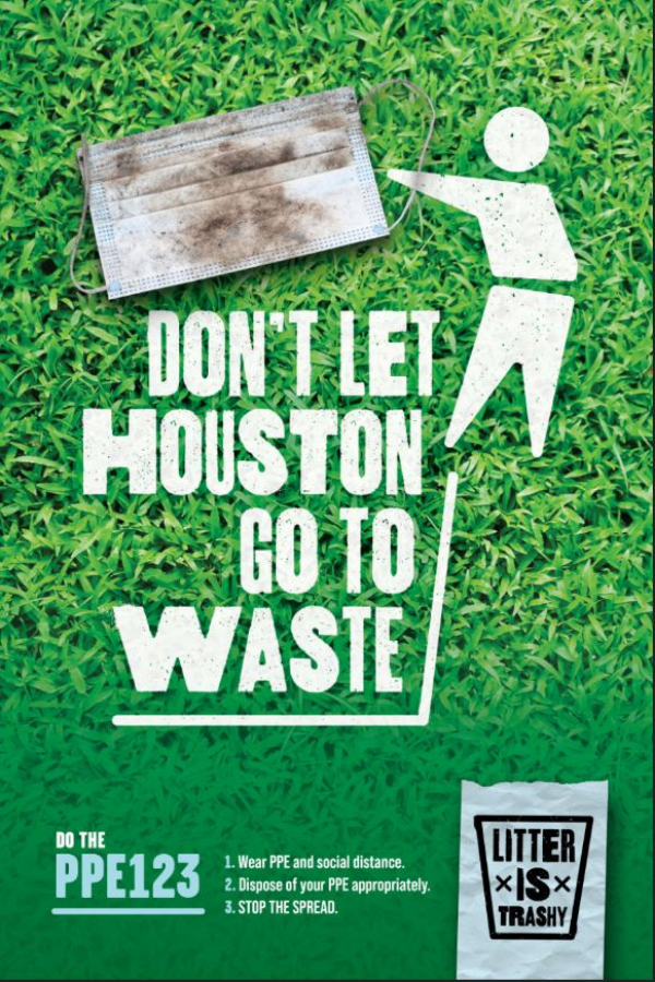 Mayor Turner Announces Citywide Anti-Litter Campaign, Encourages Houstonians to Properly Dispose of COVID-19 Face Masks, Gloves and Sanitizer Wipes 2