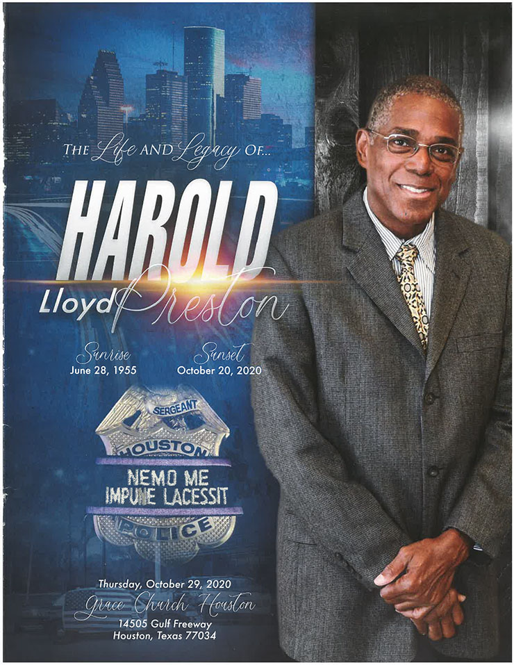 Community mourns Sgt. Harold Preston 1