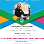 Free Immunization Event. Dec. 2-3 15