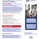 SBA Scholarships for Coley Map Federal Market Acceleration Program 18
