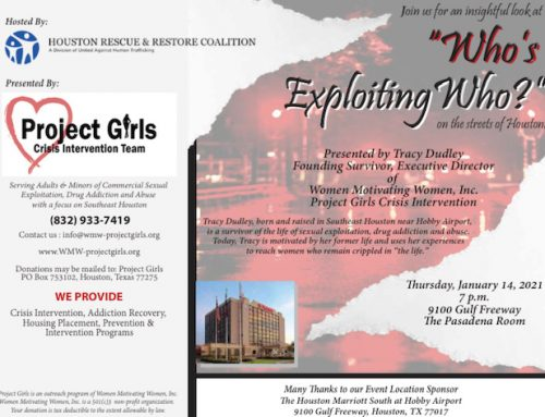 Project Girls Crisis Intervention Team: Who's Exploiting Who?