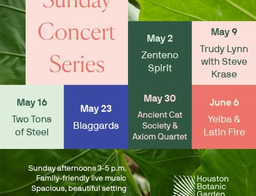 Houston Botanic Garden Launches Sunday Concert Series