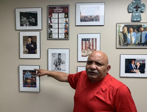 """""""Old school"""" boxing gym finds home near airport"""