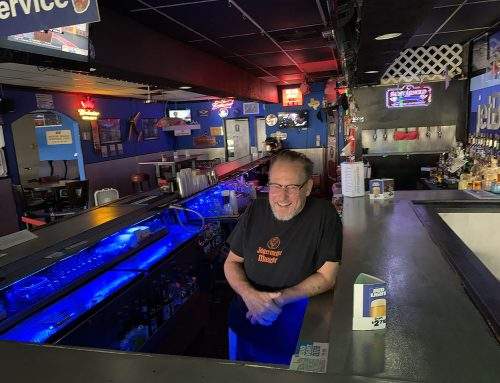 The short menu is longer at a classic dive bar with airport cool