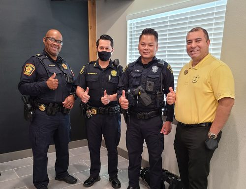 """District Thanks Harris County Constable's Office Pct. 5 for their """"Civilian Response to Active Shooter Events"""" Presentation"""
